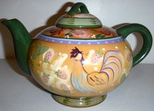 Danna Cullen Rooster Teapot in Bolingbrook, Illinois