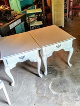 pair signed night stands/ end tables in Camp Lejeune, North Carolina