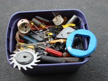 DIG THRU  TWO  TUBS OF HAND TOOLS in Chicago, Illinois