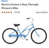 Electra Cruiser 1 step-through women's bike in Fort Leonard Wood, Missouri