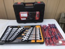 230 Pc Craftsman Tool Set & 20 Pc Gear Ratcheting Wrench Set & 17 PC Screwdriver Set in Fort Knox, Kentucky