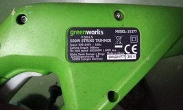 Greenworks 500w weed trimmer in Ramstein, Germany