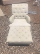 Chair and Ottoman from Pier One in El Paso, Texas