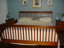 King Size Sleigh Bed Frame in Kingwood, Texas