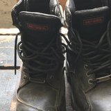 Harley Davidson boots in Fort Leonard Wood, Missouri