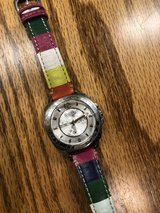 Coach watch with rainbow leather strap ( ladies) in Conroe, Texas