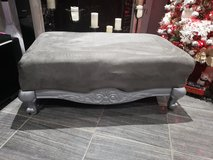 Silver Grey Ottoman in Fort Campbell, Kentucky