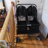 Double pet stroller in Orland Park, Illinois