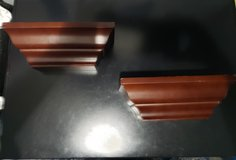2 Wall Wood shelves set in Clarksville, Tennessee