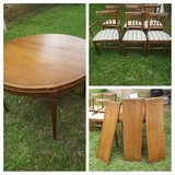 Drexel table w/6 chairs in Conroe, Texas