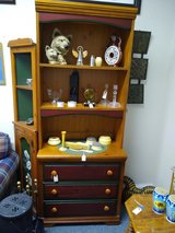 Small Pine Chest of Drawers with Upper Shelves in Bartlett, Illinois