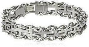 FATHER'S DAY SALE***BRAND NEW***Men's S/S Railroad Bracelet*** in The Woodlands, Texas