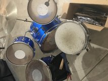 Ludwig Drum Set with additional parts in Joliet, Illinois