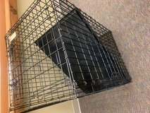 Large dog crate in Yorkville, Illinois