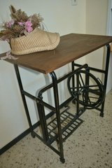 Table made out of Antique LADA sewing machine base in Wiesbaden, GE