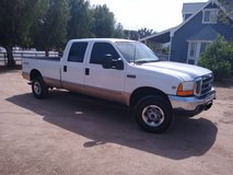 99 FORD F250 7.3 4X4 CREW CAB LONG BED SUPER DUTY in Camp Pendleton, California
