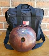 Vintage Columbia 300 Bowling Ball White Dot 16 Lbs in Aurora, Illinois