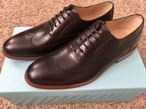 Men's Leather Dress Shoes Size 8, Black NEW in Fort Campbell, Kentucky
