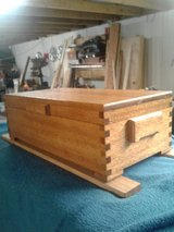 Jewelry Box  solid wood mohagny in Conroe, Texas