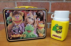 1979 Vintage Muppets Animal Lunchbox with Thermos - Great Condition in Yorkville, Illinois