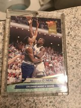 92-93 Fleer Ultra Shaquille O'Neal Rookie Card in Travis AFB, California