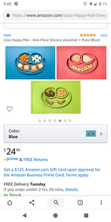 Baby/toddler placemats in St. Charles, Illinois