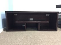 Dark Brown TV stand in Batavia, Illinois