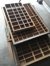 Used type trays in St. Charles, Illinois