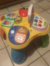 Fisher price learning table in Leesville, Louisiana