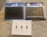 Triple Switch Wall Plates in Bolingbrook, Illinois