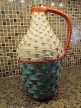 Spanish Demijohn with wicker wrapping and handle in Warner Robins, Georgia