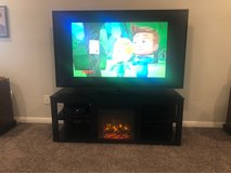 Electric Fireplace Television Stand in Fort Hood, Texas