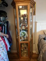 Curio Cabinet - lighted with glass shelves in 29 Palms, California