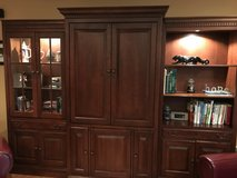 Hooker 8 pc Family Room Furniture - Beautiful Muted Cherry Finish in Glendale Heights, Illinois