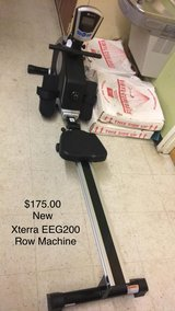 Row Machine Xterra EEG200 (New) in Fort Leonard Wood, Missouri