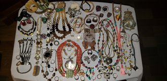 LARGE COSTUME JEWELRY in Plainfield, Illinois
