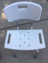 New Roscoe Medical Adjustable Shower Chair in Orland Park, Illinois