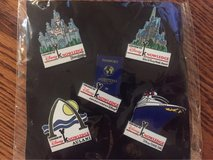 Disney College of Knowledge Set of 5 Pins in Naperville, Illinois
