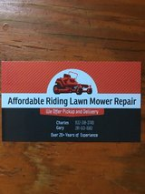 Affordable Riding Lawn Mower Repair in The Woodlands, Texas