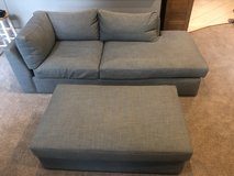 Custom Couch / Sofa and Ottoman in Glendale Heights, Illinois