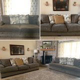 Like new Cindy Crawford oversized couch and loveseat in Fort Hood, Texas
