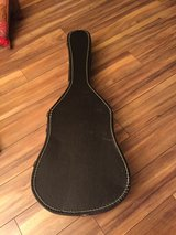 Hard shell acoustic guitar case only $25 in Naperville, Illinois