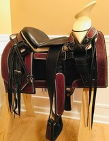 Silla de Montar Charra **NEW**Mexican Charro Saddle in Naperville, Illinois