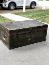 Old Army Trunk in Fort Campbell, Kentucky