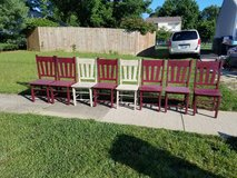 Primitive Chairs in Fort Knox, Kentucky