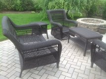 Outdoor Wicker Patio Set in Glendale Heights, Illinois