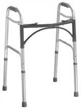 Drive Deluxe Folding Walker, Two Button in Naperville, Illinois