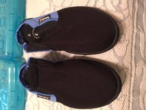 Water Shoes Blue and Black Triangle Brand Size 9 in Kingwood, Texas