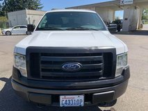 2011 Ford F-150 with canopy and running board, white color, smooth and strong! in Fort Lewis, Washington