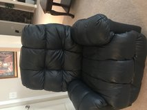 Leather recliner chair in Glendale Heights, Illinois